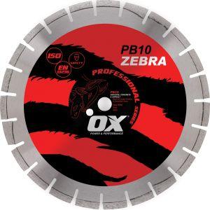 Image for OX Professional PB10 Segmented Diamond Blade - Abrasive