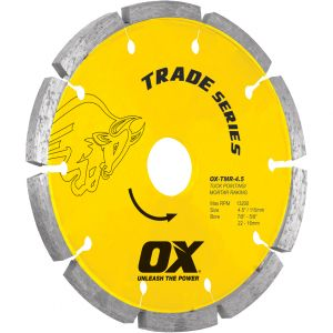 Image for OX Trade TMR Tuck Pointing Diamond Blade