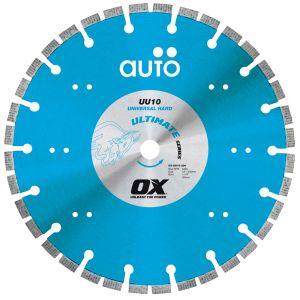 Image for OX Ultimate UU10 AUTO Technology Diamond Blade - Universal/Hard