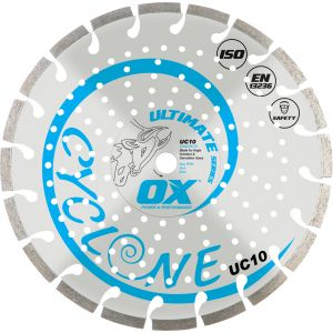 Image for OX Ultimate UC10 Segmented Diamond Blade - General Purpose / Concrete