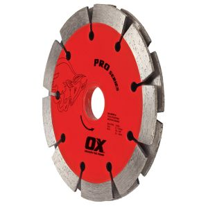OX Professional PDTP Sandwich Segmented Double Tuck Pointing Diamond Blade