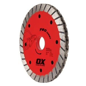OX Professional PTTP Sandwich Turbo Double Tuck Pointing Diamond Blade
