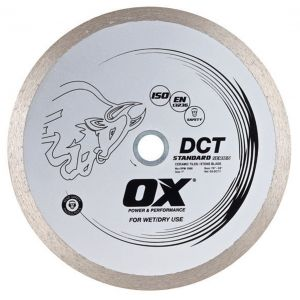 Image for OX Standard DCT Continuous Rim Diamond Blade - Ceramics