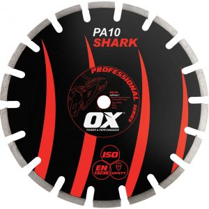 Image for OX Professional PA10 Segmented Diamond Blade - Asphalt