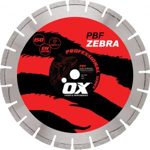 Image for OX Professional PBF Floor Saw Diamond Blade - Abrasive