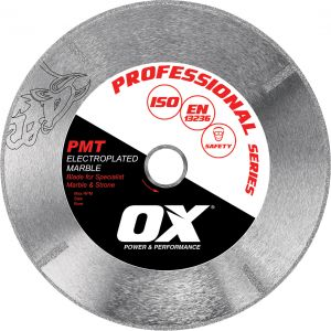 Image for OX Professional PMT Electroplated Marble Diamond Blade