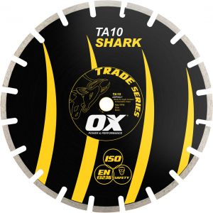 Image for OX Trade Segmented Diamond Blade - Asphalt